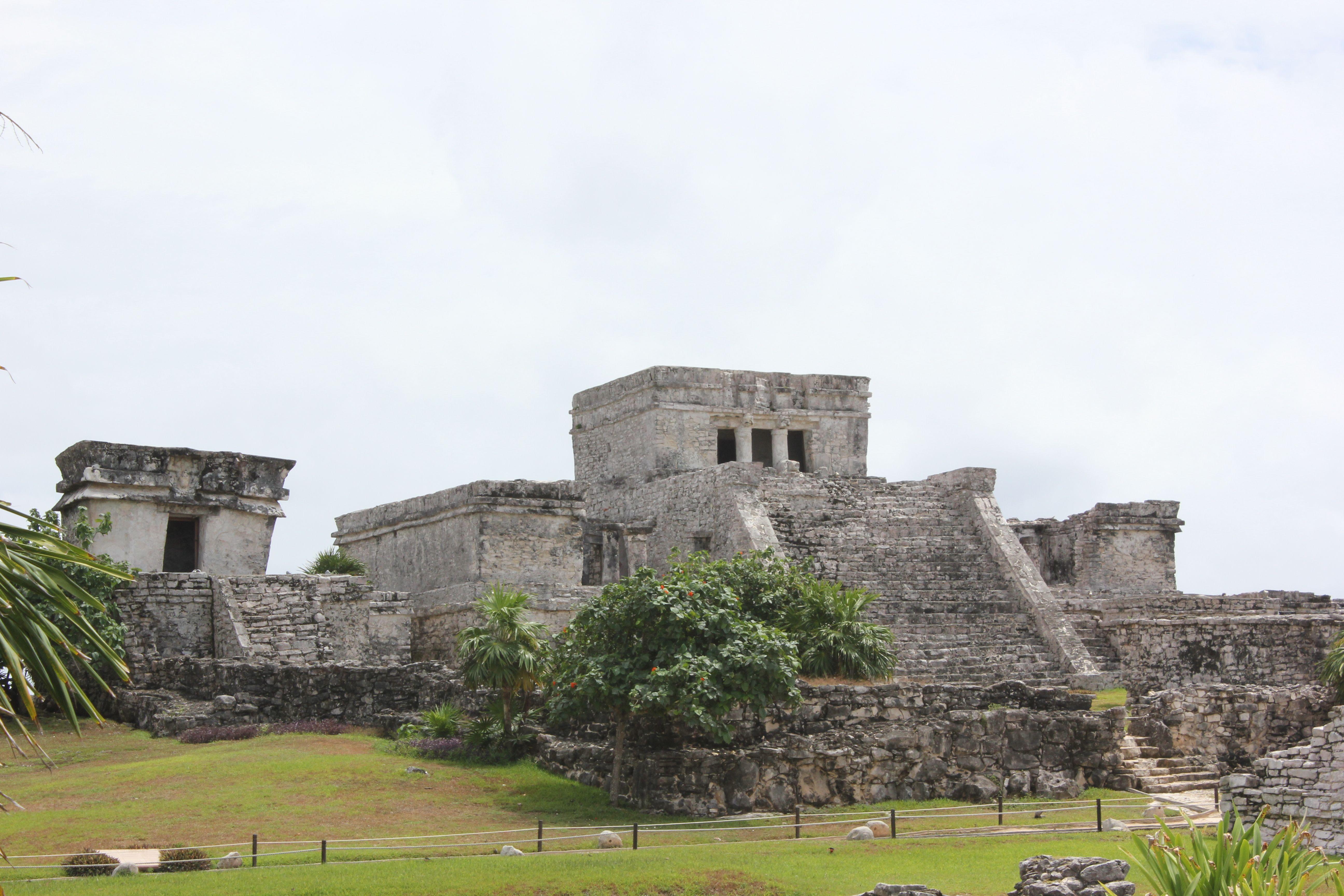 Meksikanske Ruins Aztec - Maya Oldtidsruiner i Mexico