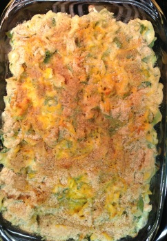 Chicken, Spinach Casserole